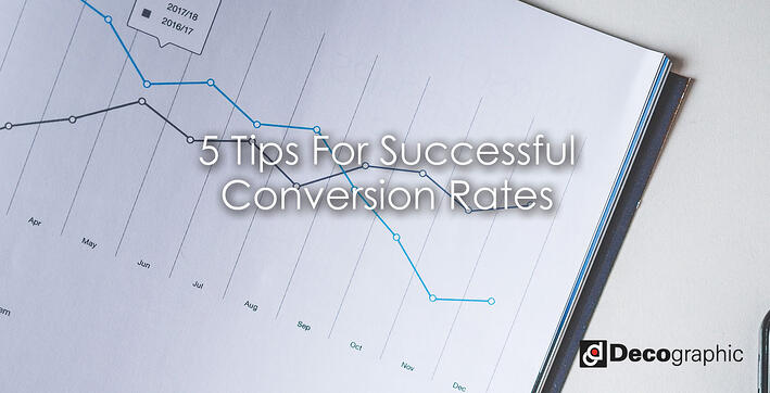 tips for successful converstion rates
