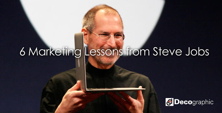 6 Marketing Lessons from Steve Jobs