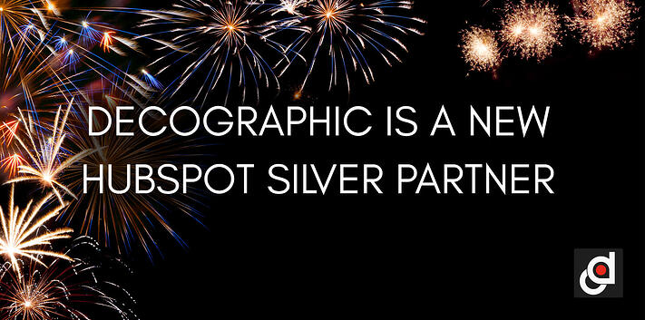 Decographic is a new HubSpot Silver Partner